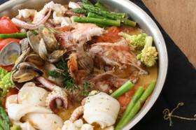 魚介とトマトの簡単スープ