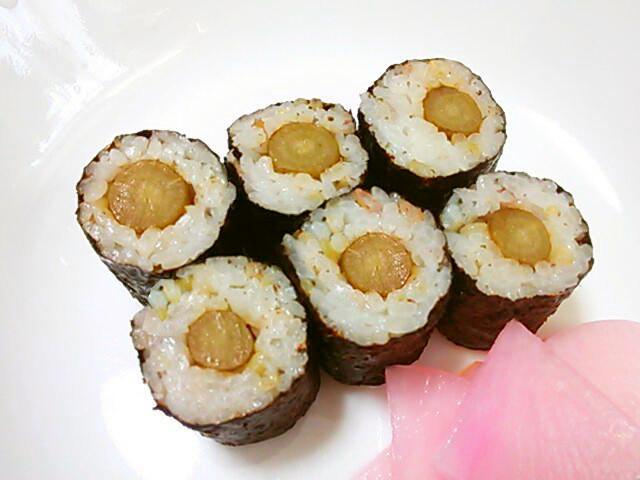 ごぼうの海苔巻き(細巻き寿司)