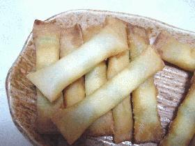 枝豆とチーズのカリッとステック!
