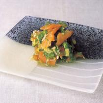 搾菜(ザーサイ)のきゅうりおろし和え