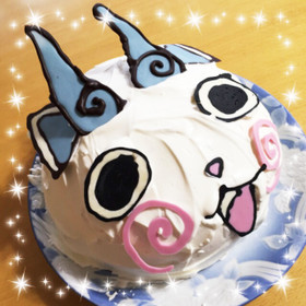 誕生日にコマさんケーキ By ユッキーママ クックパッド 簡単おいしい