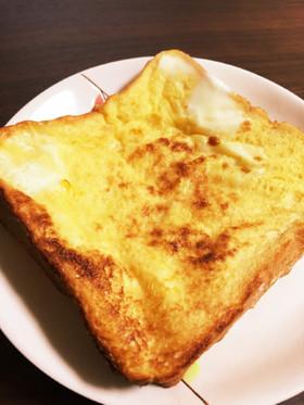 激旨!トースターで簡単フレンチトースト!