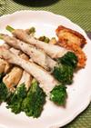簡単☆菜の花の豚肉巻き、お弁当も◎