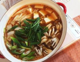キムチ鍋の素不要  和風キムチ鍋
