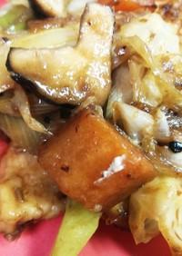 高野豆腐の回鍋肉◆ヘルシー