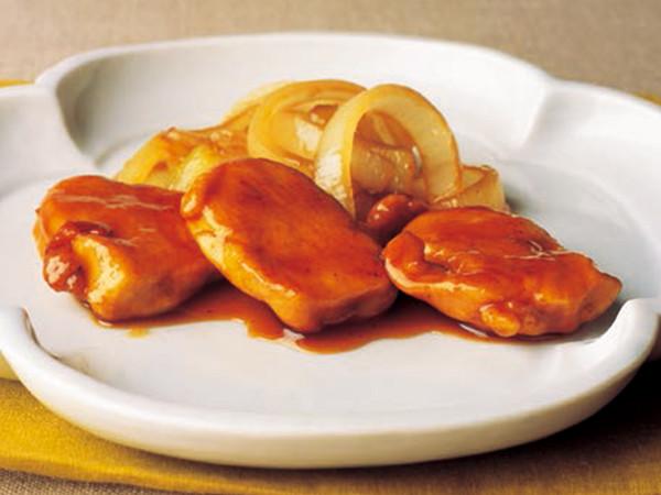 鶏肉のカレーくわ焼き