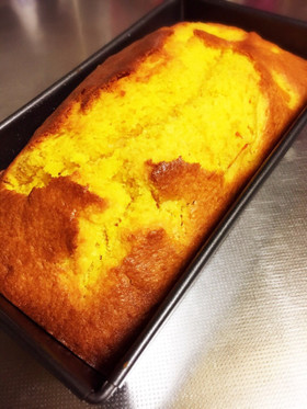 HMでかぼちゃのパウンドケーキ★