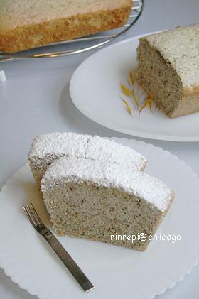紅茶のクリームチーズケーキ