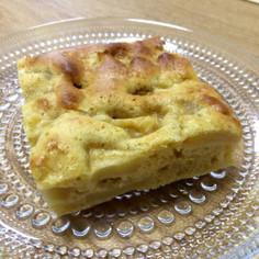 ココナッツオイルのりんごケーキ