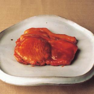 豚肉のケチャップ照り焼き