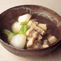 豚肉とかぶの塩煮