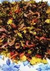 桜海老とジャコの高菜炒め