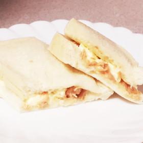 クリームチーズとツナだけっ!簡単サンド☆