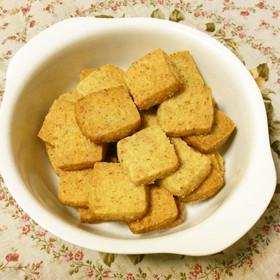 糖質制限!大豆粉パルメザンチーズクッキー