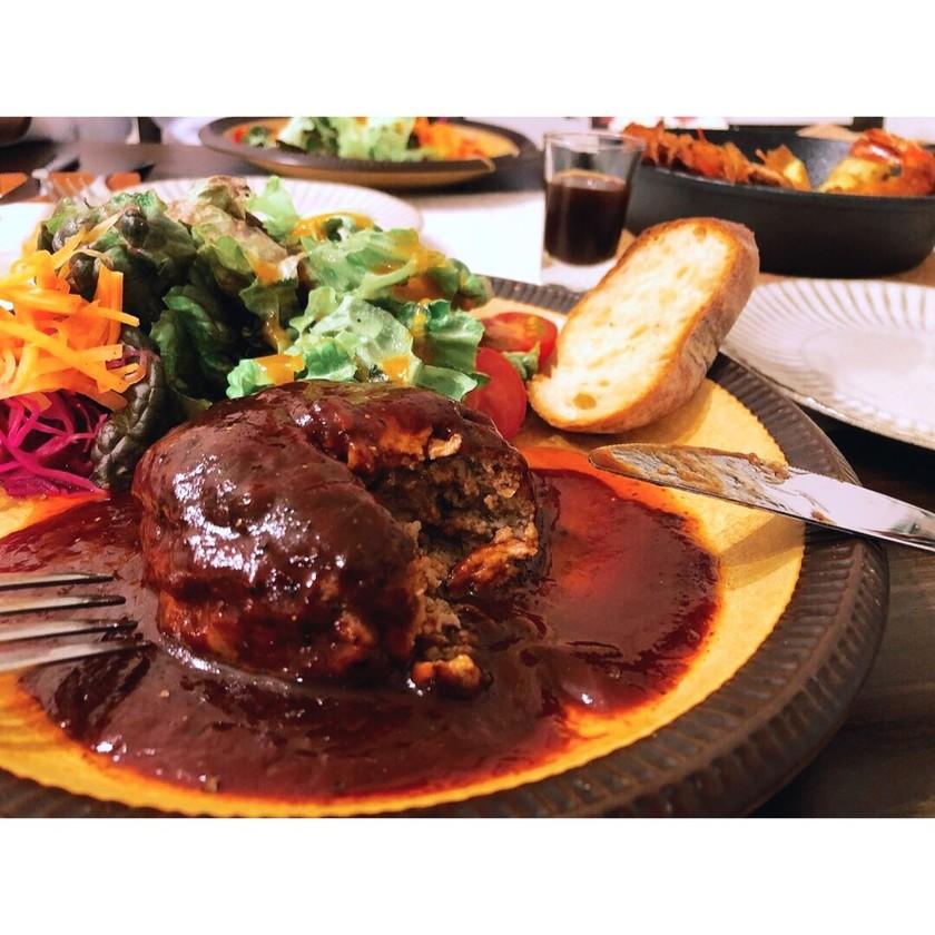 簡単☆玉ねぎ無しの肉ニクしいハンバーグ