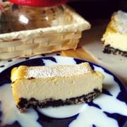 しっとり濃厚!豆腐チーズケーキ☆の写真