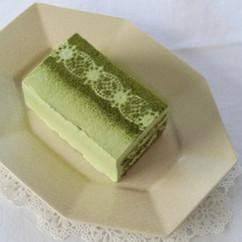 抹茶のショートケーキ