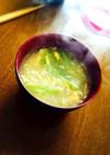超簡単・満腹感アリ・トロトロ卵スープ