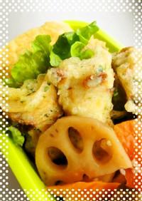 お弁当に♪ちくわの天ぷら磯揚げ~♪