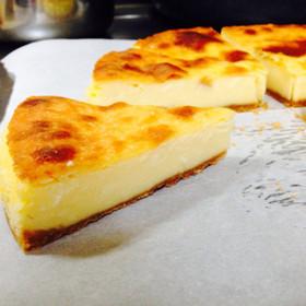 めっちゃ簡単で美味しいチーズケーキ♡