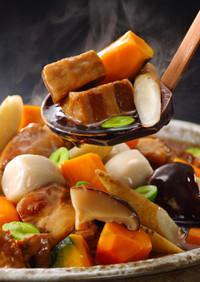 体の芯から温まる冬野菜と豚の角煮