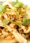レンジで簡単♡冷凍うどんの海苔ゆず胡椒