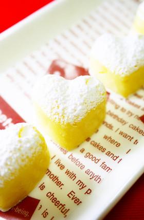 ホワイトデー♡レンジで簡単!白い生チョコ