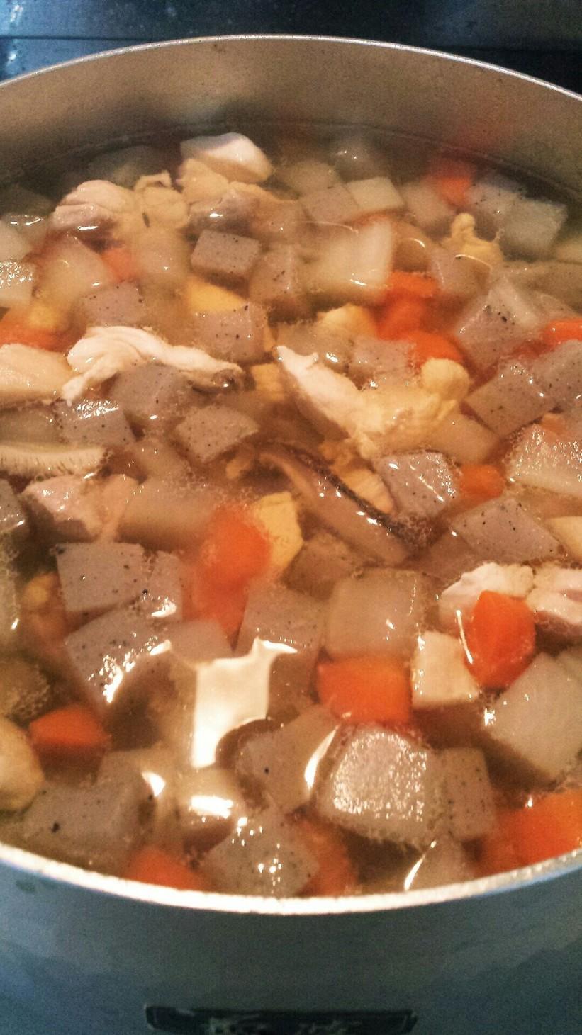 ダイエットの主食♡優しい味の角切り煮♡
