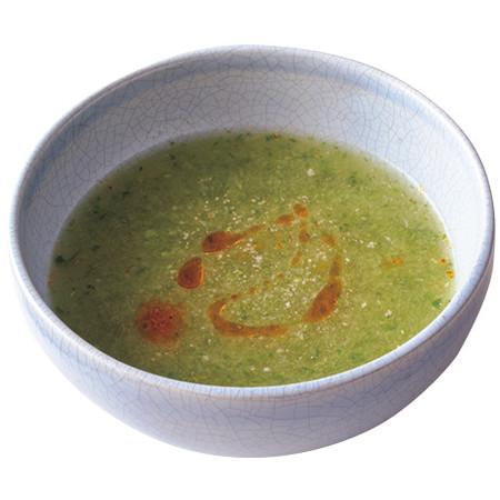 おろしきゅうりの酸辣湯(サンラータン)