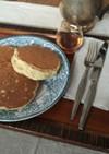 酒粕と生姜とほうじ茶のパンケーキ