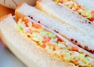 春キャベツ!コールスローのサンドイッチ