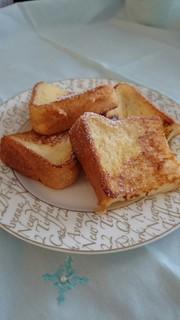 我が家のフレンチトーストの写真