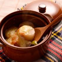 長ネギのグラタンスープ