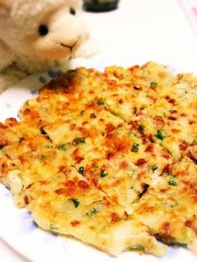 納豆だってお弁当に☆納豆とチーズのチヂミ