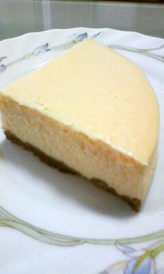 ねっとりしっとりニューヨークチーズケーキ