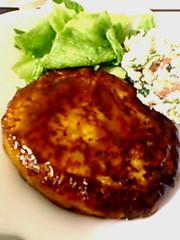 お肉は一切使いません!!絹豆腐ハンバーグの写真