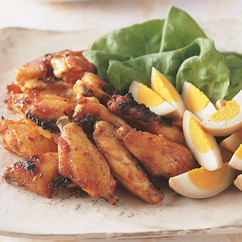 鶏スペアリブの香り焼き