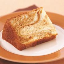 キャラメルマーブルシフォンケーキ