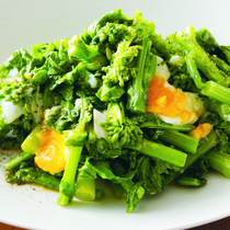 菜の花の卵サラダ