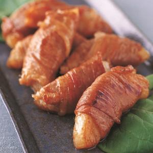 新たまねぎの豚肉巻き