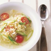 塩キャベツのスープ