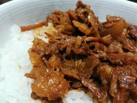 魯肉飯(男子ごはんレシピアレンジ)