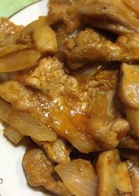 簡単お肉料理♡新玉ねぎでポークチャップ
