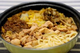 ひきずり鍋(名古屋風鶏すき焼き)