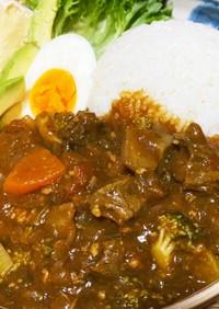 バーミキュラ☆肉2種使用の贅沢無水カレー