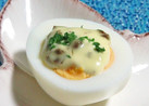 ちょっとオシャレに◆ゆで卵◆レーズンマヨ