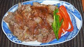 超柔らかい アメリカ産牛肉のステーキ