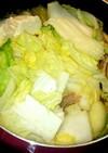 白菜&レタスすき焼き★締めは卵とじうどん