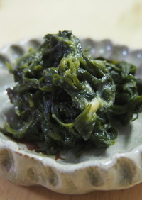 ヨメナの味噌佃煮風