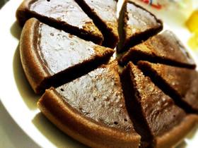炊飯器で簡単♪しっとりチョコケーキ